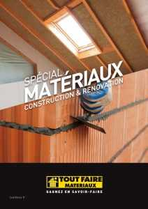 thumbnail of catalogue MATERIAUX TT FAIRE